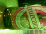 A bottle of amusingly named beer
