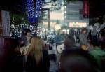 A band in Shinjuku
